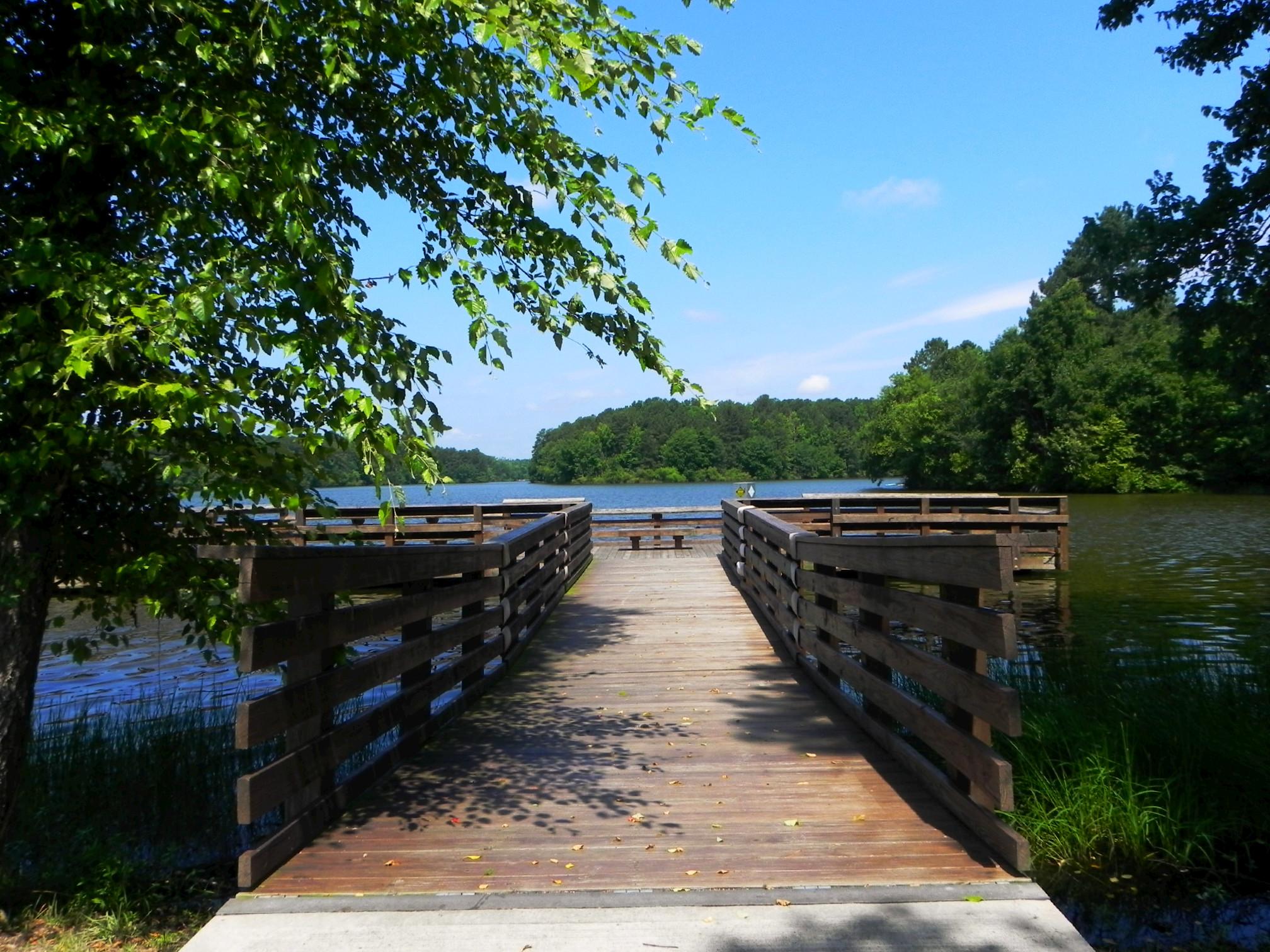 Lake Devin dock